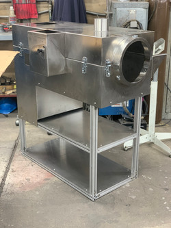 Stainless Steel Furnace Cart