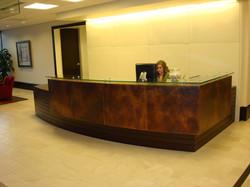 Patina Copper Desk Cladding