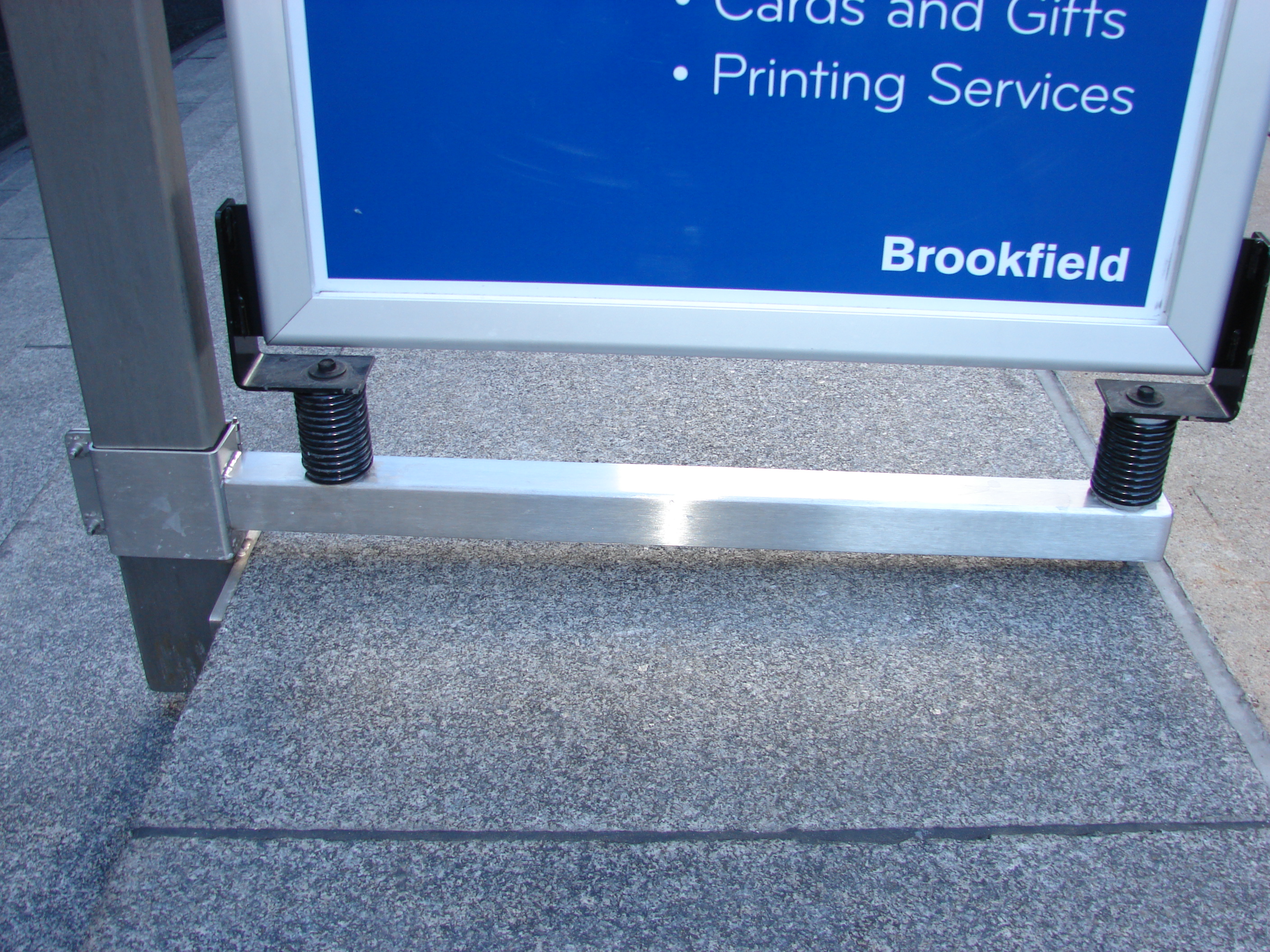 Stainless Steel Sign Bracket