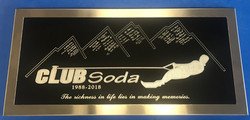Engraved Anodized Aluminum with Stai