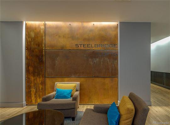 Steelbridge Lofts Corten Sign