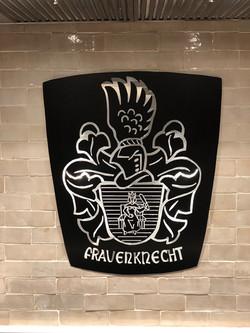 Engraved Family Crest