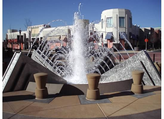 Stainless Steel Fountain