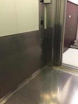Aluminum Freight Elevator Cladding