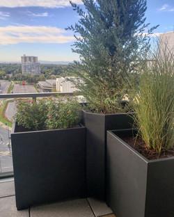 Aluminum Planter Boxes