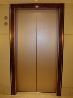 Copper Patina Elevator Jambs