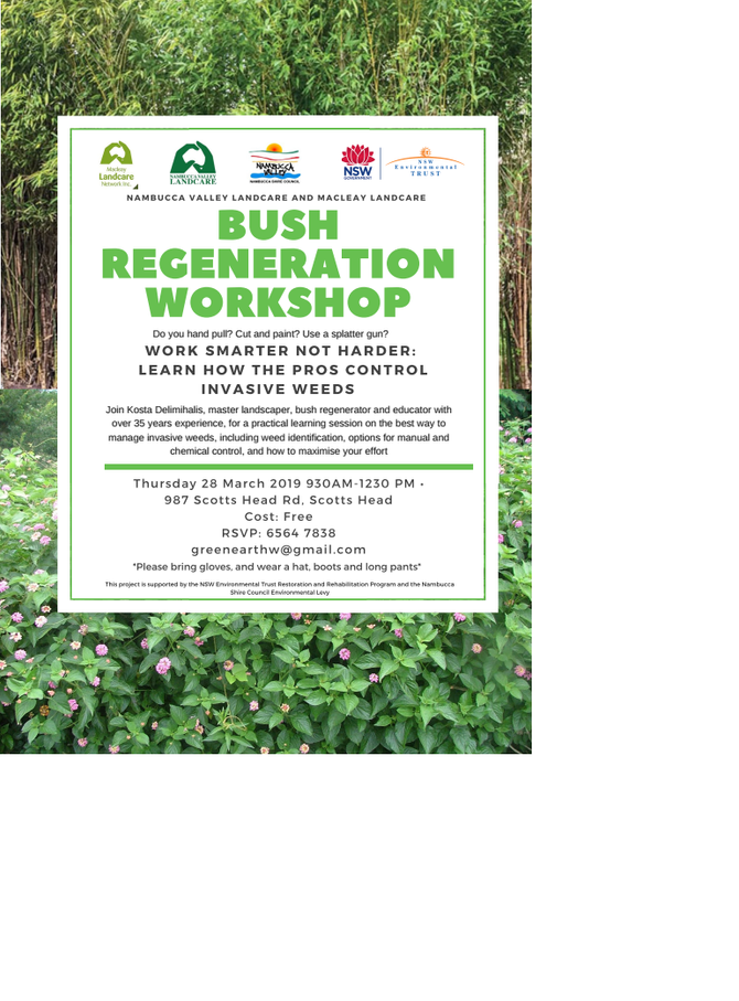 Bush Regeneration Workshop