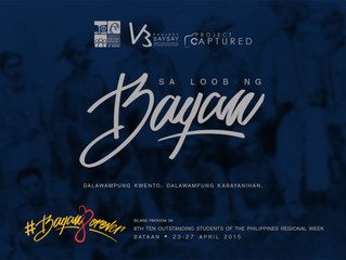 Project Saysay, TOSP R3ACH, Project Captured to Feature Great Filipinos from Central Luzon