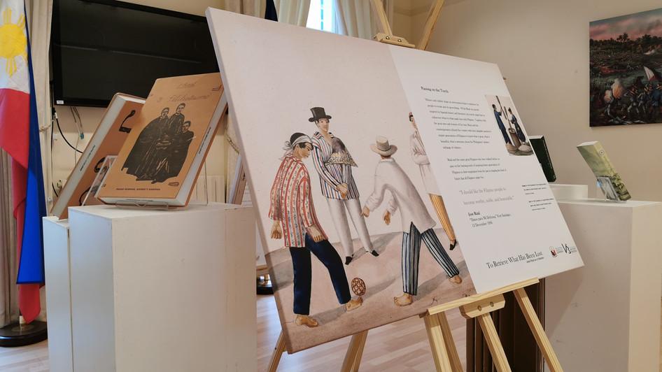 Project Saysay, PH Embassy honor Rizal in London