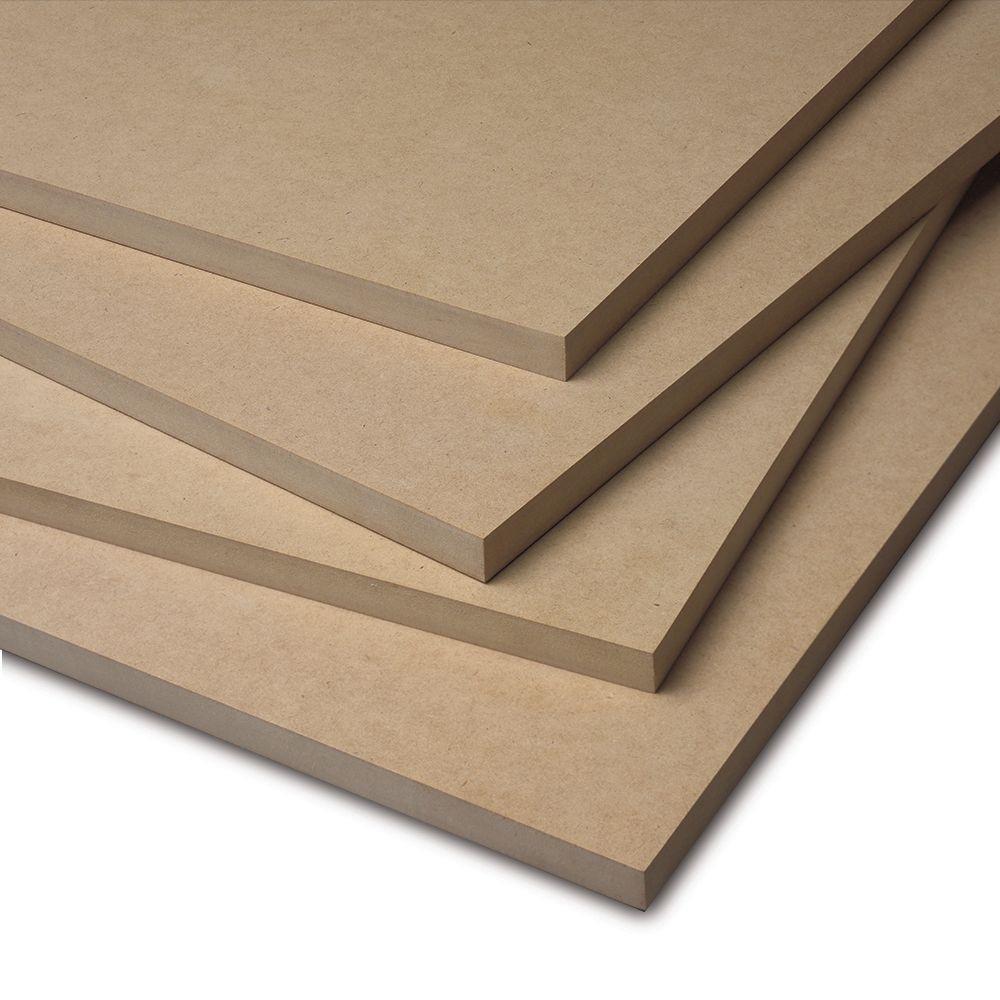 Medium-density fiberboard (MDF), image courtesy of www.cabinetjoint.com
