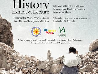 pSaysay, NHCP to Relaunch Exhibit, Lecture at Fort Santiago