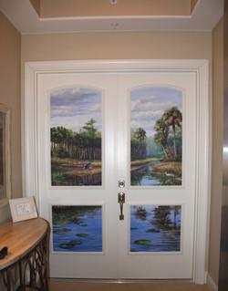 Everglades Elevator Mural