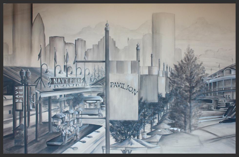Chicago tribute Mural