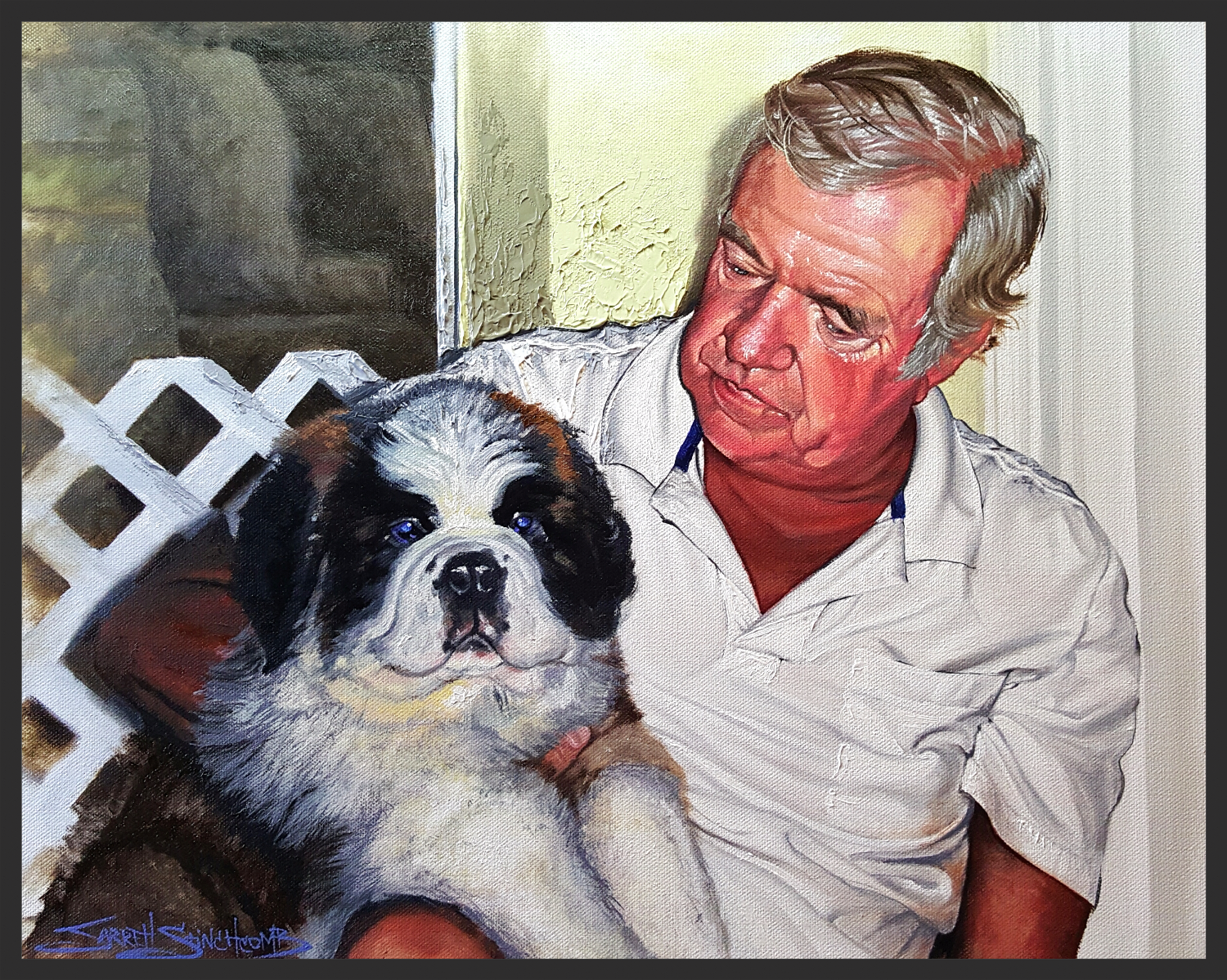 Man's Best Friend Portrait