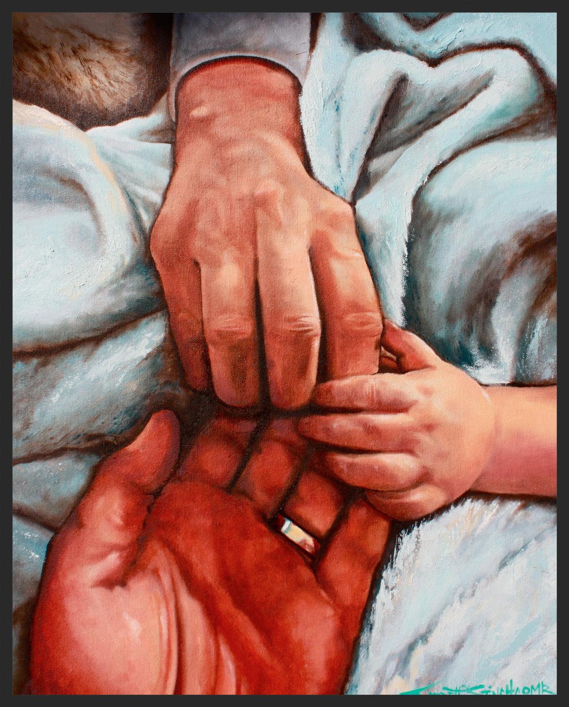 Hand Portrait Full Color