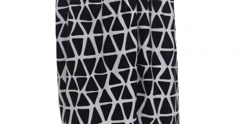 Black Web Sublimated Shorts