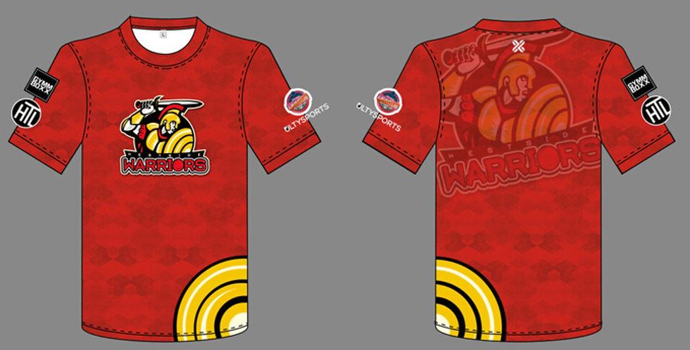 Elite League Jersey (Westside Warriors - Red)