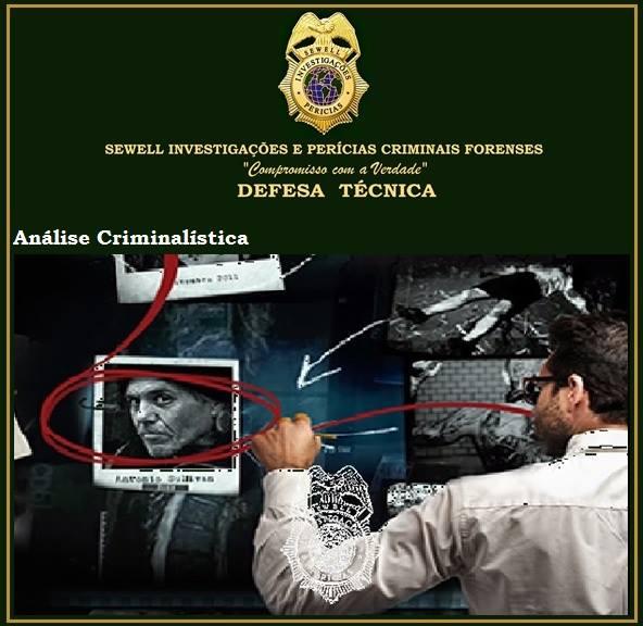 Análise Criminalística Sewell SC