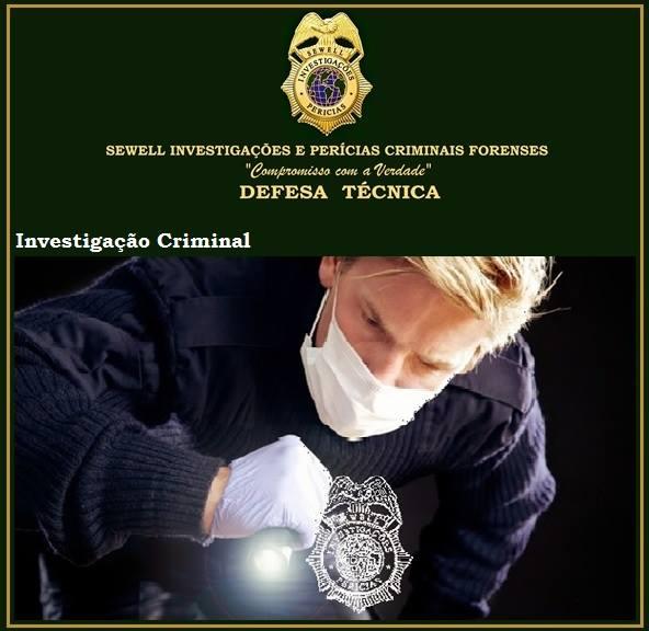 INVESTIGAÇÃO CRIMINAL SEWELL SC