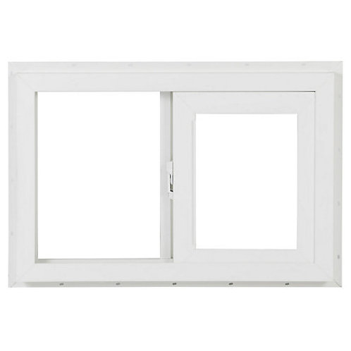 Ventana PVC blanco 60 x 40 cm