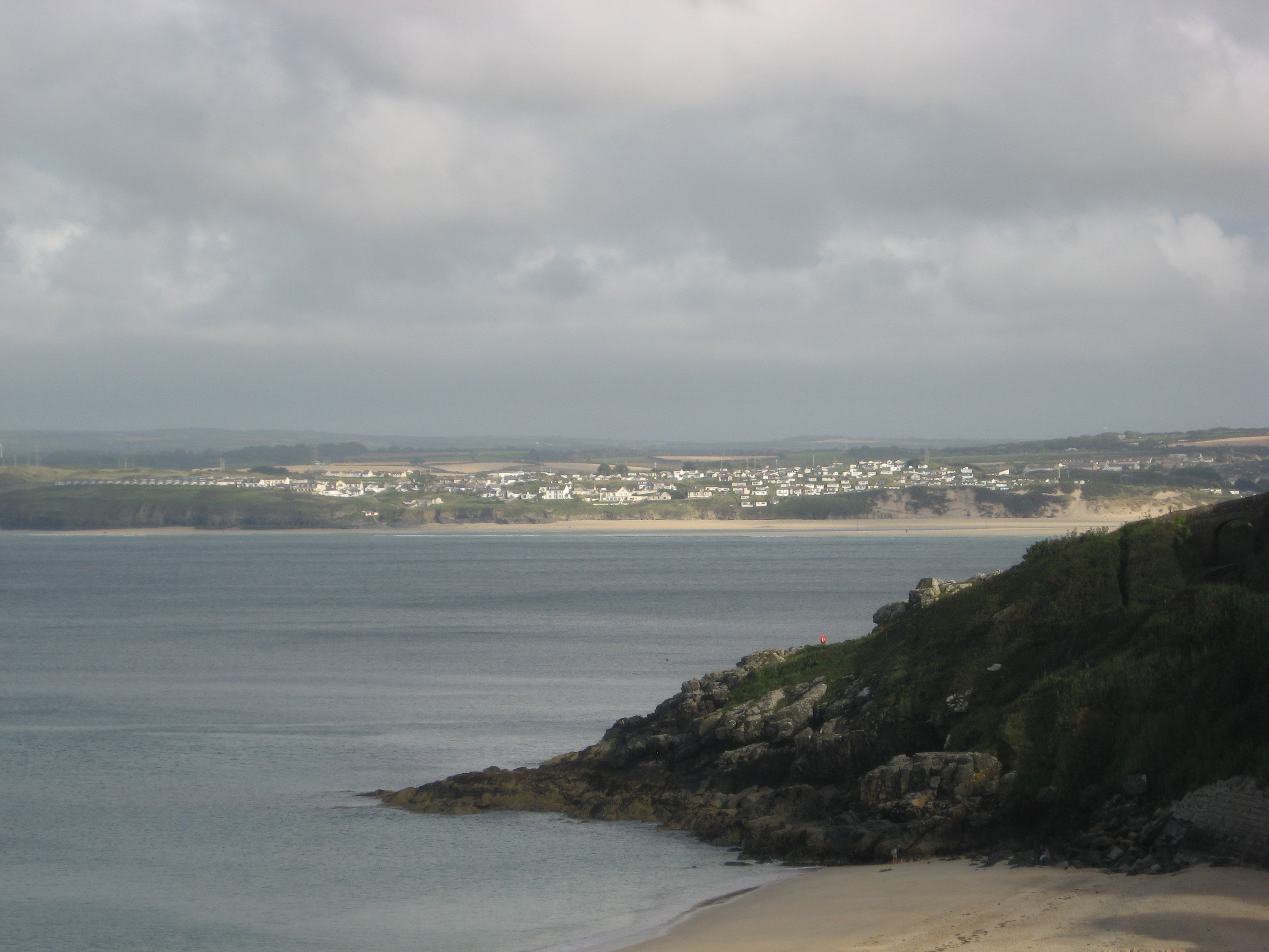 View from St. Ives Beach