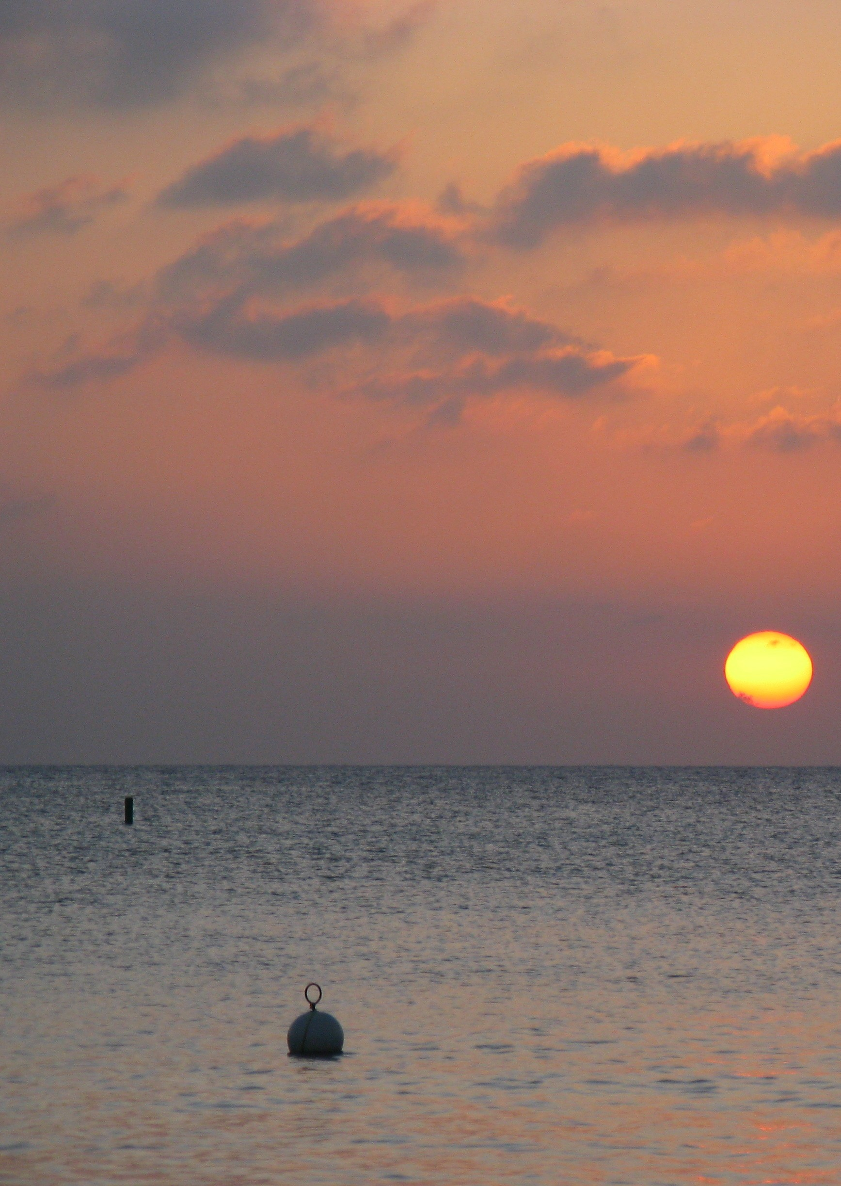 Sunset with Buoy
