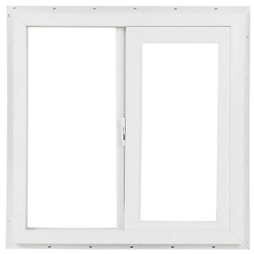 Ventana PVC blanco 120 x 120 cm
