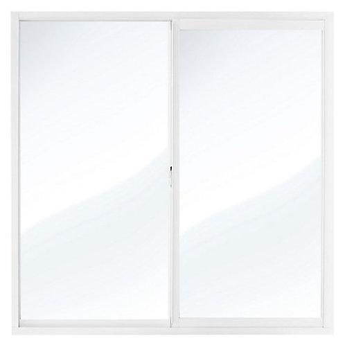 Ventana aluminio blanco 100 x 100 cm Multimarca