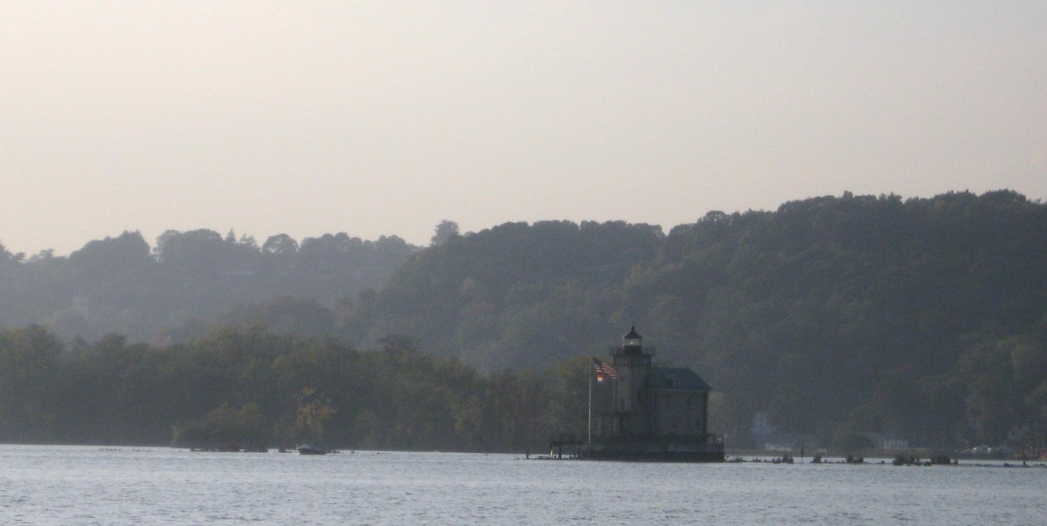 Lighthouse on the Hudson River