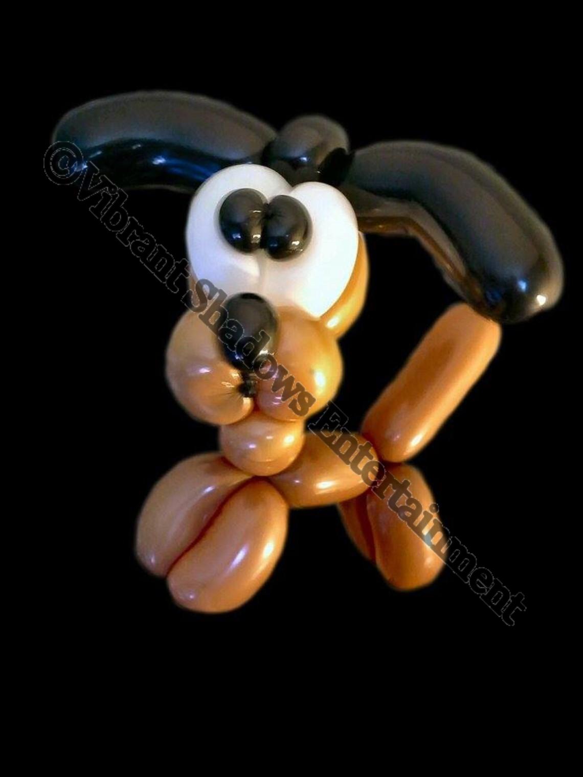 Puppy balloon sculpture