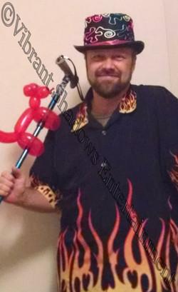 Jared Fowler, balloon twister
