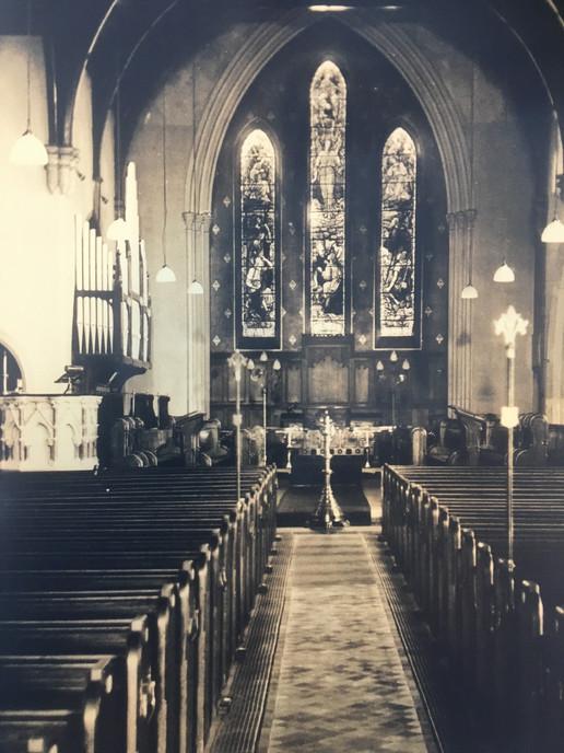 Inside St. Mark's - 1940s