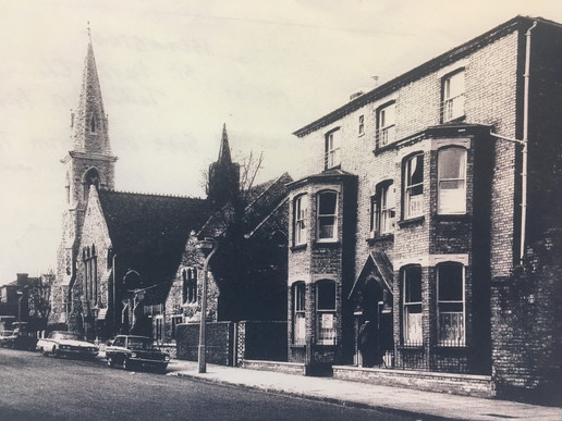 The Vicarage & St. Mark's - 1968