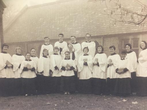 St. Mark's Church Choir - 1950s