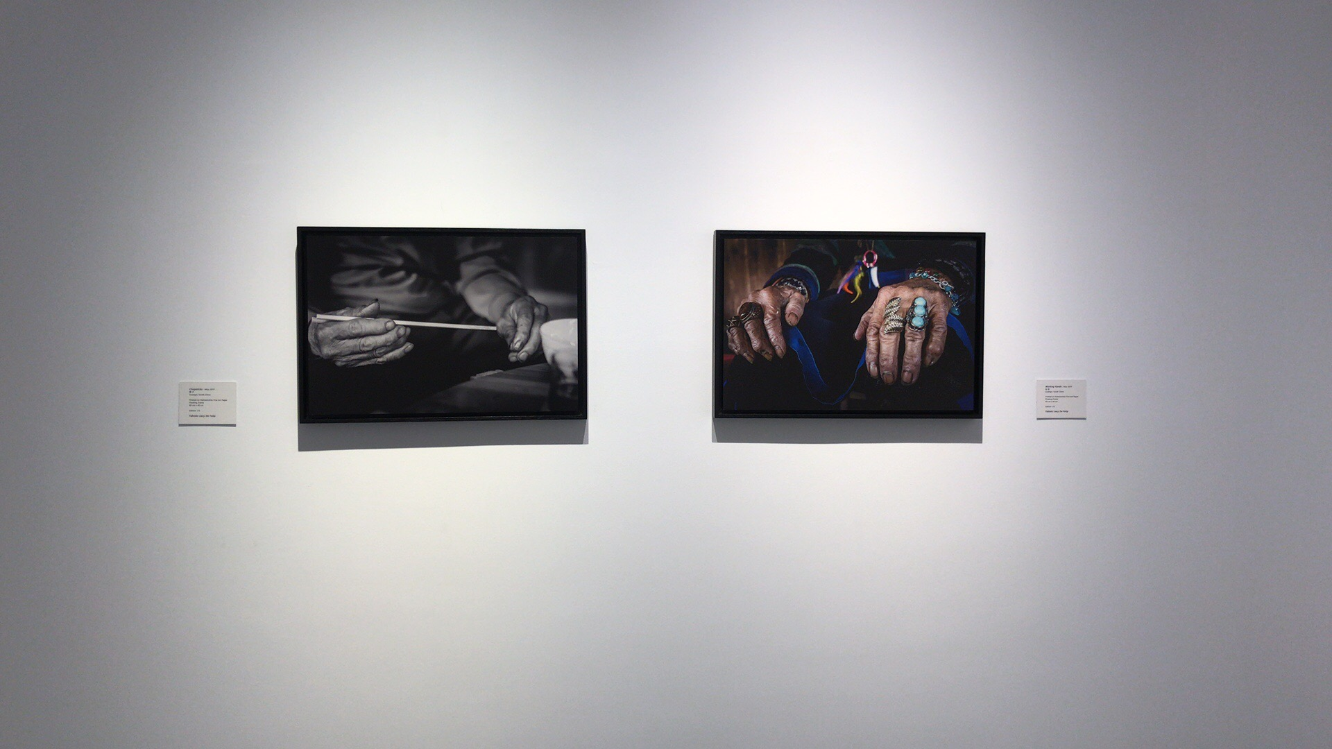 Hands of an husband and wife