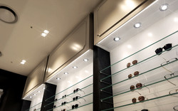 백화점 명품관내 안경원 인테리어 디자인