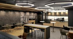 기업 사내 카페테리아 & 미팅룸 인테리어디자인