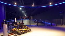 제주 번개레이싱 AR/VR 테마파크 인테리어
