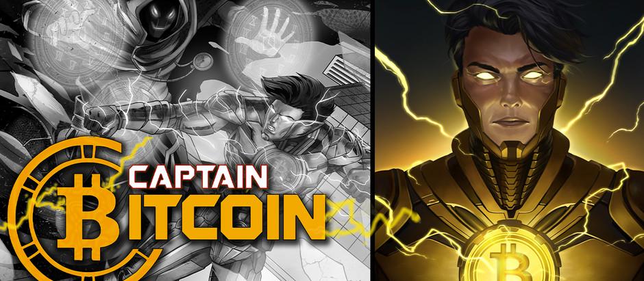 Captain Bitcoin Comics Movie Premiere