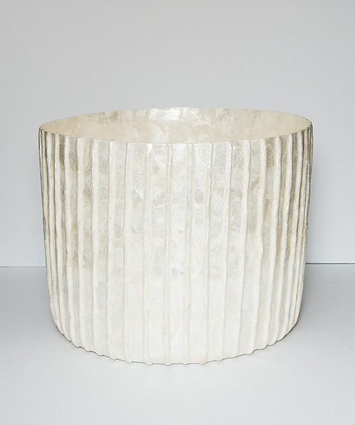 Roman Pillar Drum Pot Small