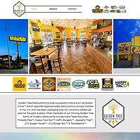 Golden Tree Restaurant - Boxless Web Design