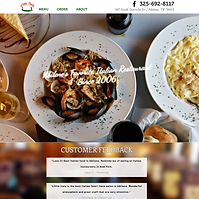 Luigi's Little Italy Website - Boxless Web Design