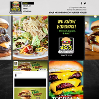 JC's Burger House Website - Boxless Web Design