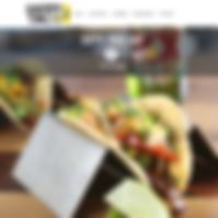 Happy Taco Bar Website - Boxless Web Design