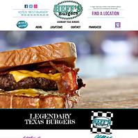Heff's Burgers Website - Boxless Web Design