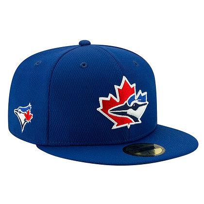 Men's Toronto Blue Jays Batting Practice 20 New Era Royal Authentic 59Fifty Hat