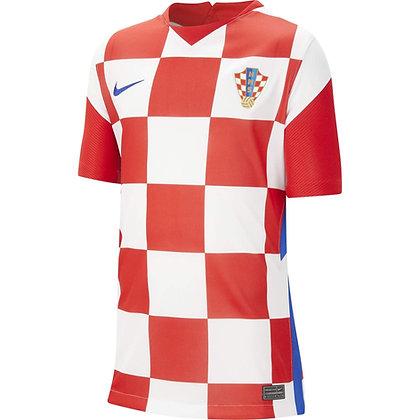 Youth Croatia Nike Stadium Home Jersey 20/21