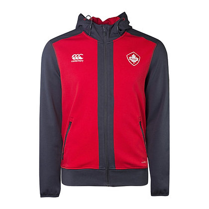 Men's Rugby Canada Canterbury VapoDri+ Fleece Full Zip Hoodie