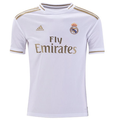 Youth Real Madrid adidas Home Jersey 2019/20