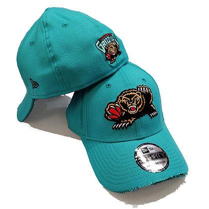 Men's Vancouver Grizzlies New Era Teal 39THIRTY Flex Hat